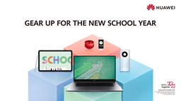 Get back to school with Huawei special offers
