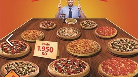 Take a look at Pizza Hut Open Lunch Buffet offer