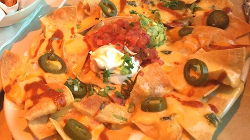 Factory Nachos ... great appetizer in Cheesecake Factory