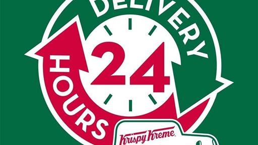 Krispy Kreme Delivery Service is now 24 hours