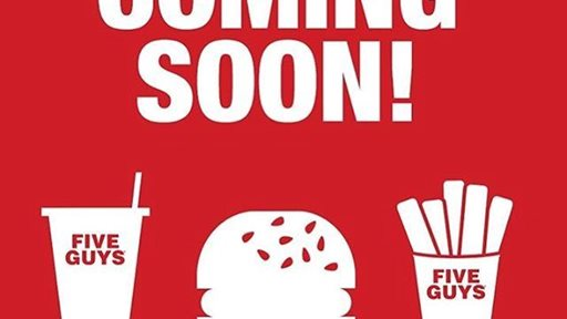 Five Guys Burger Restaurant will open new branch in Jahra Mall soon.