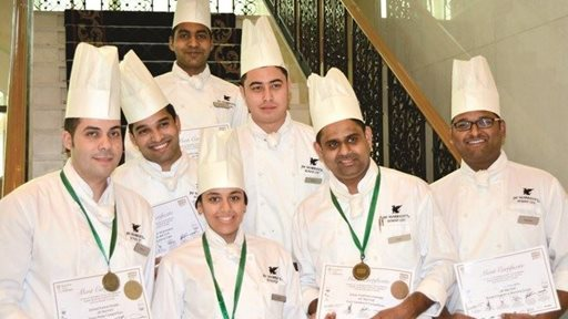Courtyard by Marriott Kuwait and JW Marriott Kuwait Team earned wide range of medals, including 2 gold, 2 silver, 2 bronze and 6 merit certificates at Horeca 2018.