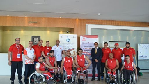 Al Bustan Centre & Residence supports sports for people with determination