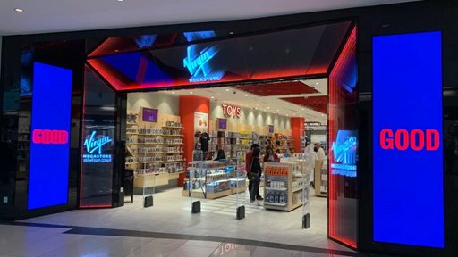 Virgin Megastore is now Open in The Avenues Mall Kuwait