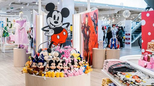 Disney Store shop in shops are now in KSA and Qatar
