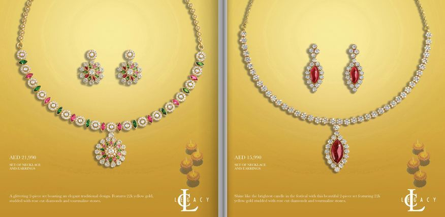 The Shine On Diwali collection by Damas
