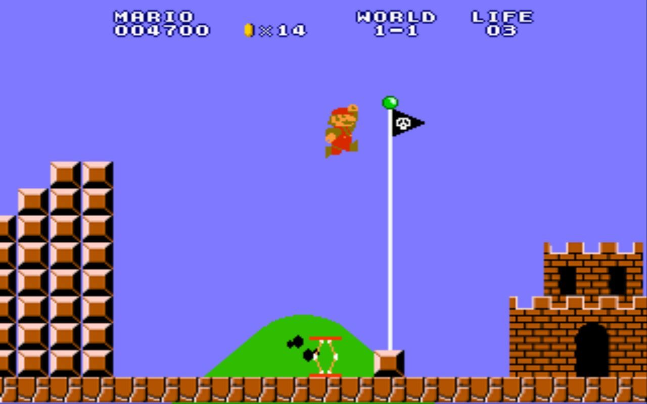 Who didn't miss playing the Super Mario Nintendo game like hell?