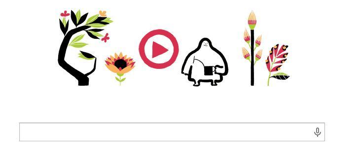 First day of Spring With Google