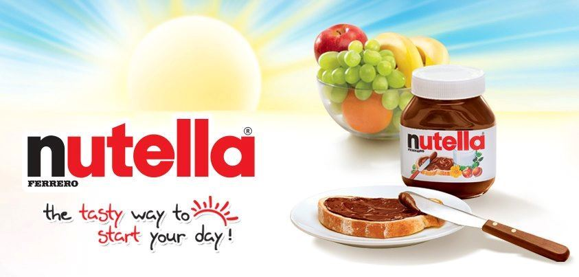 Nutella ... the chocolate that doesn't need expiry date