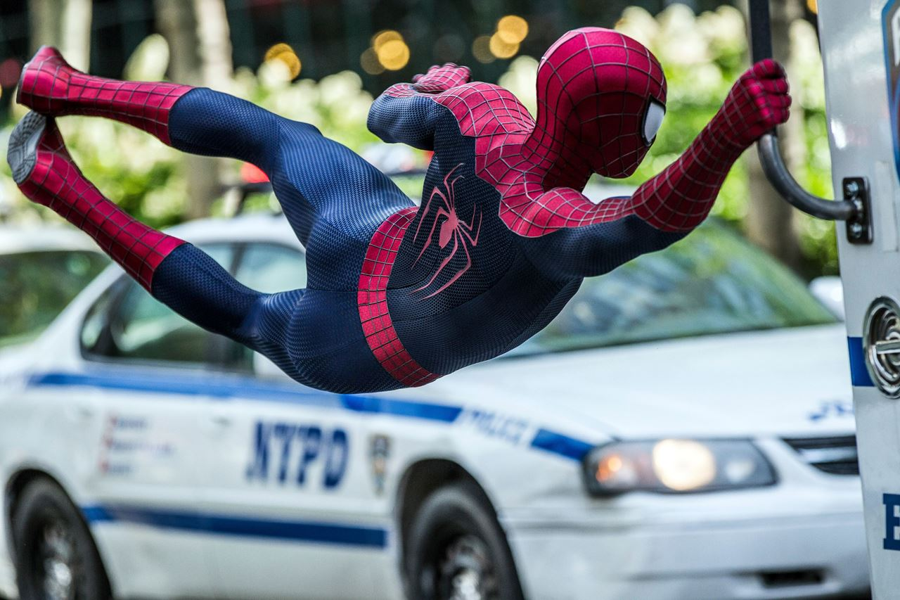The Amazing Spider - man 2 now in Cinescape