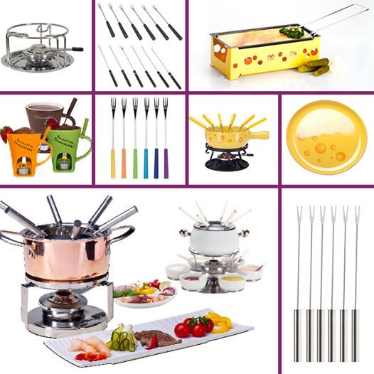 Get the complete Fondue sets from Safat Home