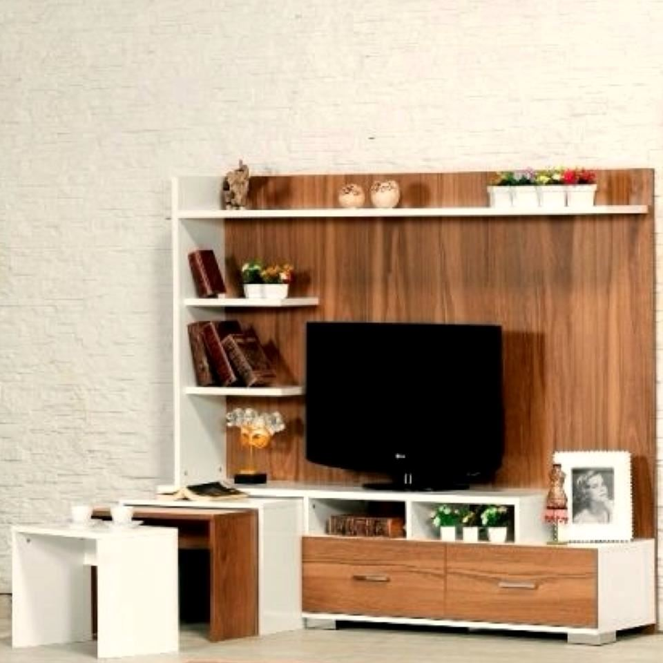 TV Table with embedded tables for 114 KD