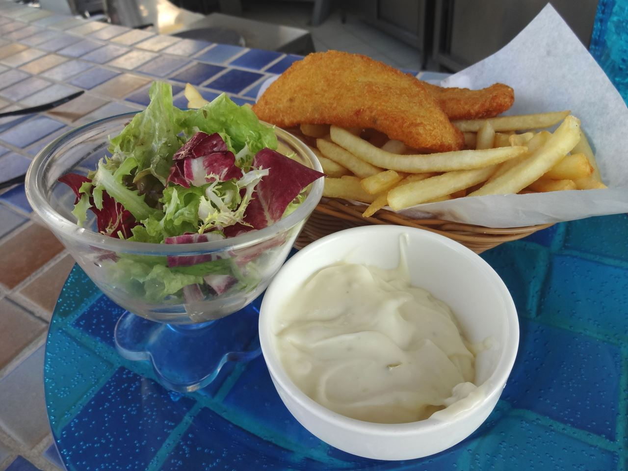 Amazing Lunch at the Marina Pool Bar