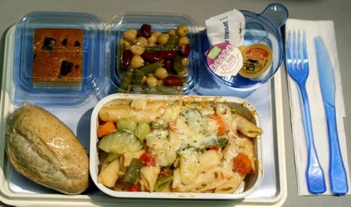 Is the food tray table in the plane a veritable petri dish of germs?
