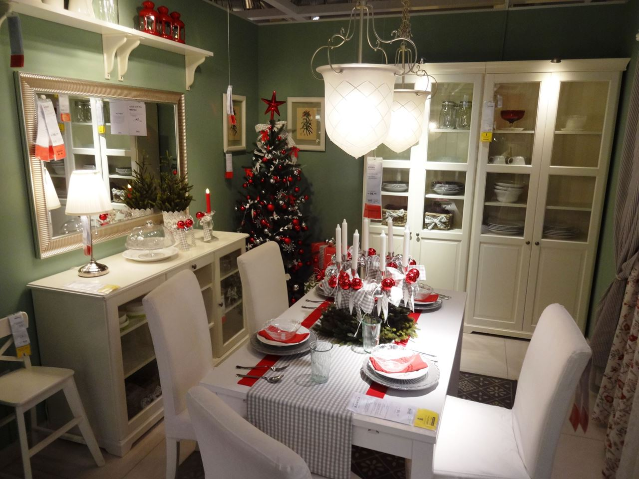 Christmas started at IKEA