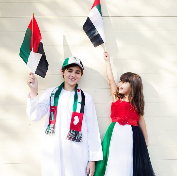 Joelle Mardinian celebrates UAE National Day in a special way