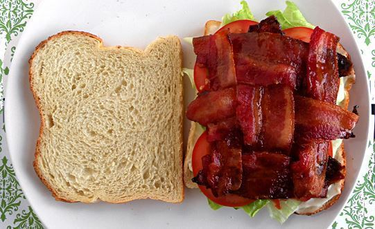 """How to prepare a """"Bacon in every bite"""" sandwich"""