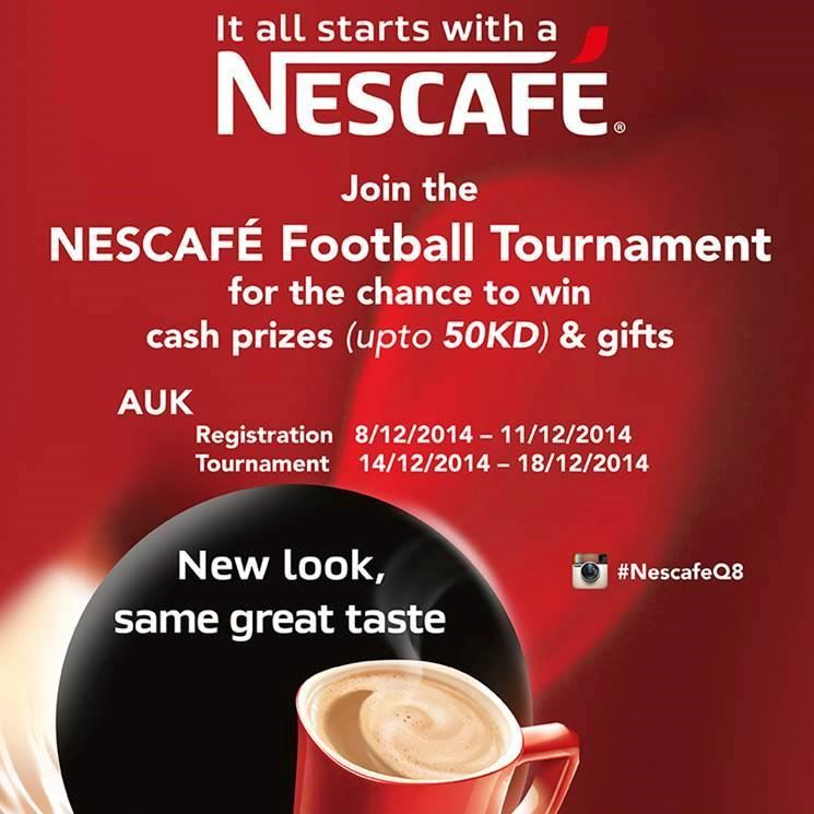 """""""Nescafe Football Tournament"""" started today at AUK"""