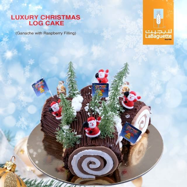 Order your special Christmas Cake from La Baguette now