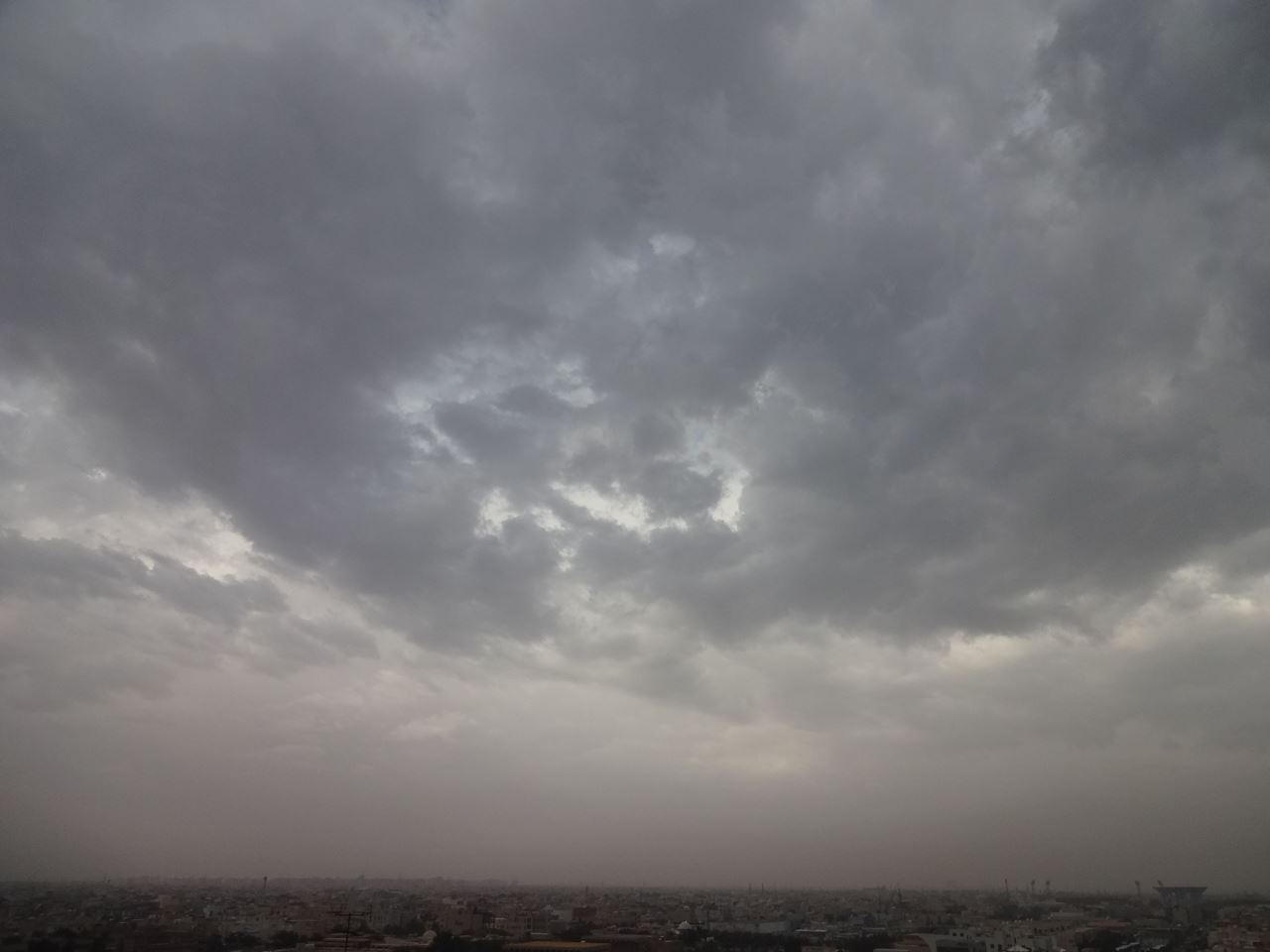 A Rainy morning in Kuwait