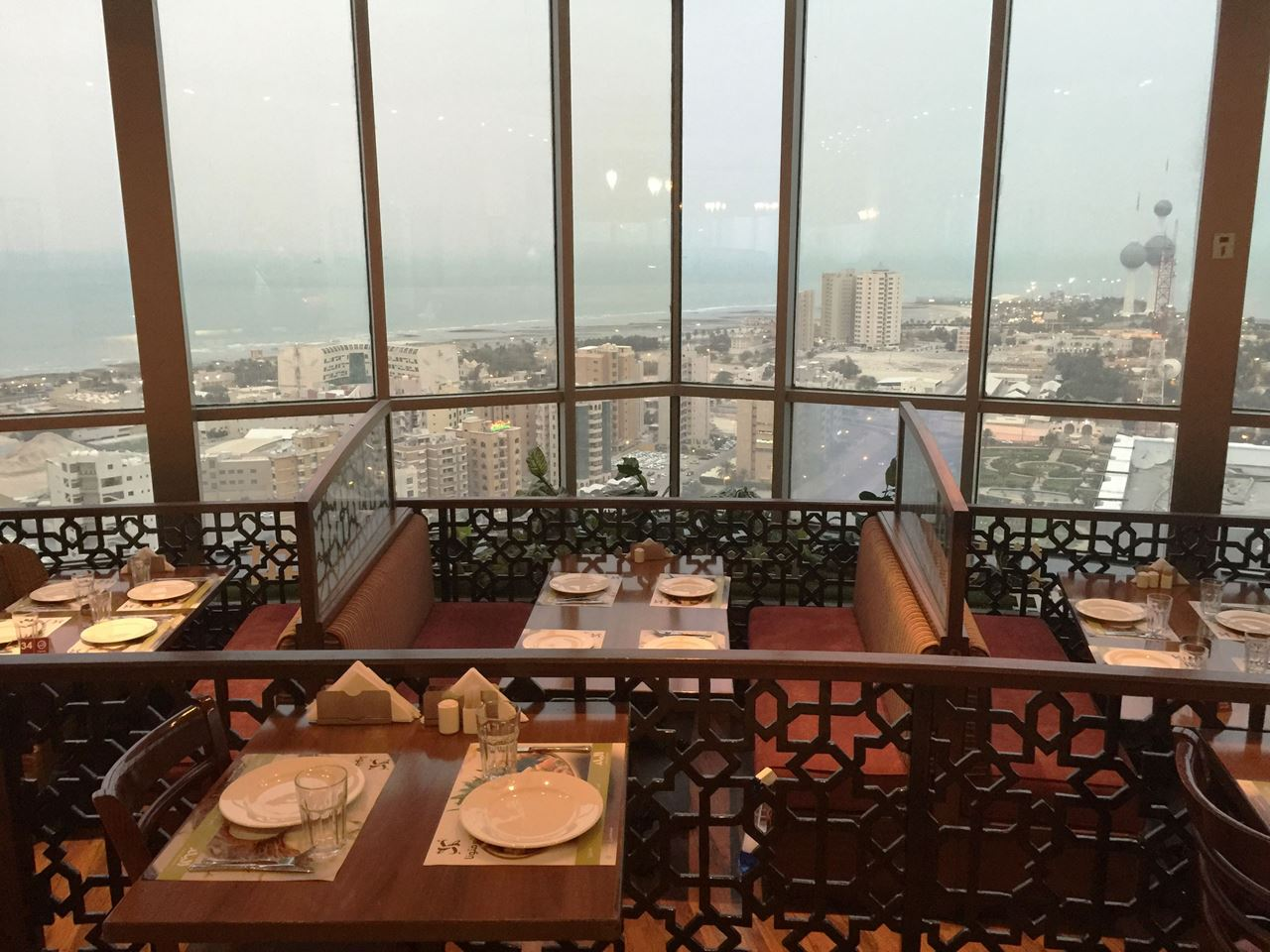 Amazing view from the top of Sharq Tower