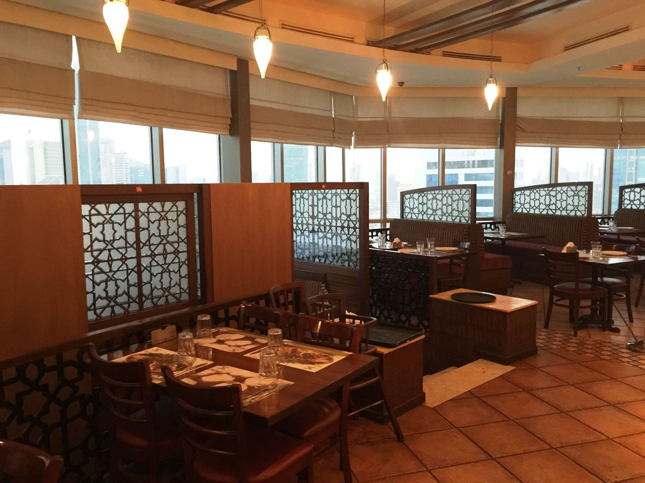 A section in Al Balad restaurant