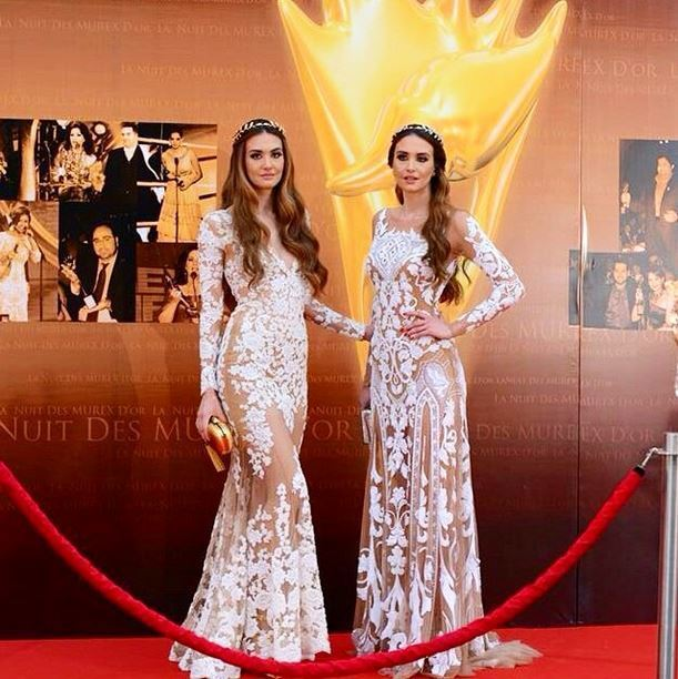 The Twin sisters Rina and Romy Chibany