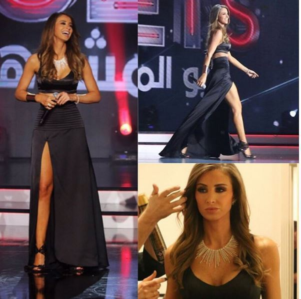 Host of Celebrity Duets Annabella Hilal
