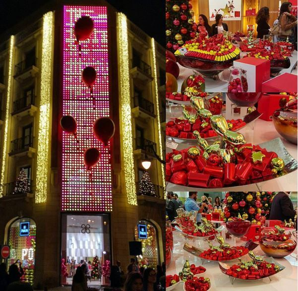 Patchi Christmas decoration and chocolate collection