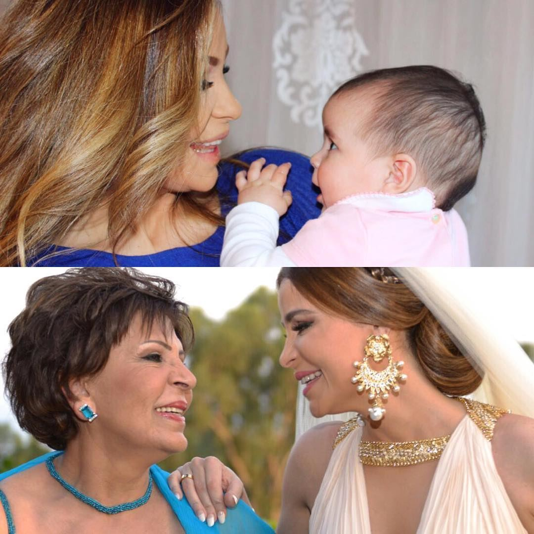 3 generations ... Carole with her mom and daughter