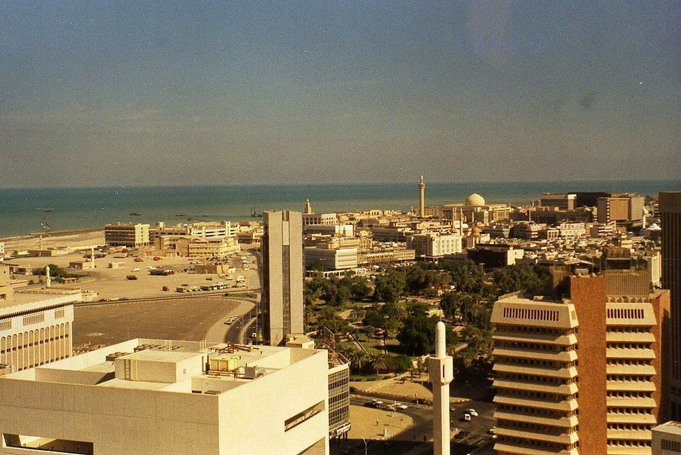 4 Photos from Kuwait in the beginning of 80s