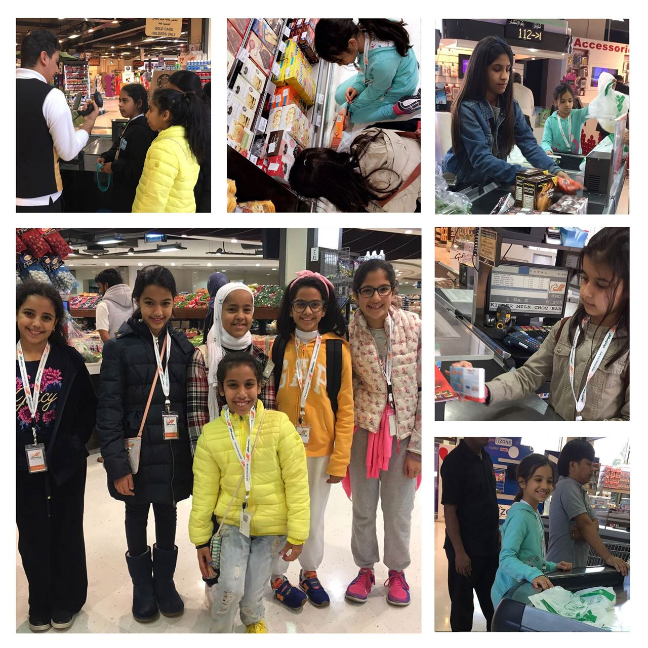 The Sultan Center Hosted Sanaya Club Students in a Unique Hands-On-Experience Program