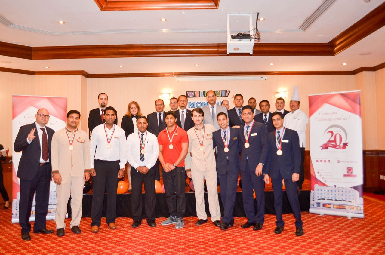 Al Bustan Centre & Residence bestows 'Honesty Awards' to employees