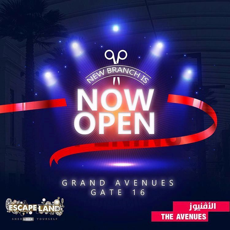 Escape Land is Now Open in The Avenues Mall Kuwait