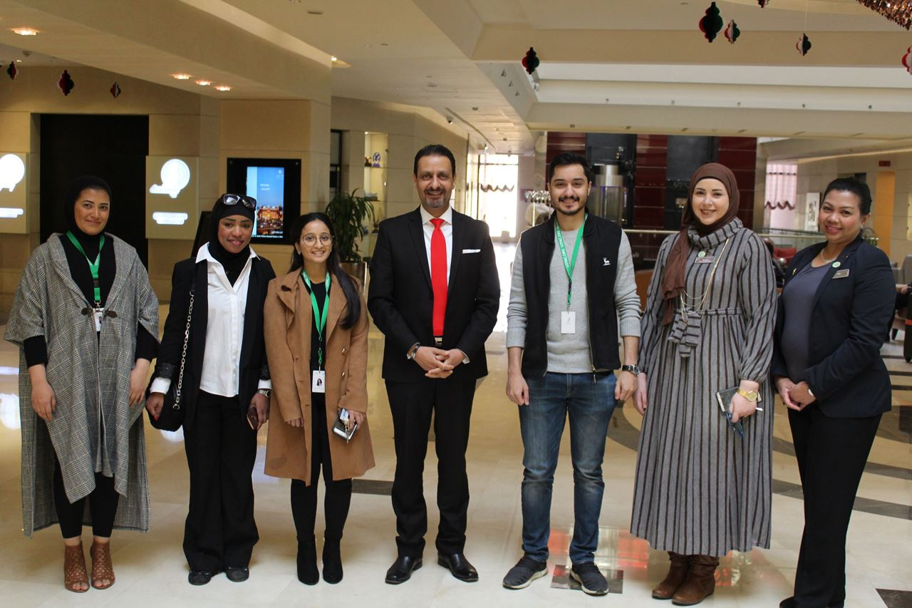 Safir Fintas Kuwait Hotel welcomes LOYAC Interns for the first time during 2019