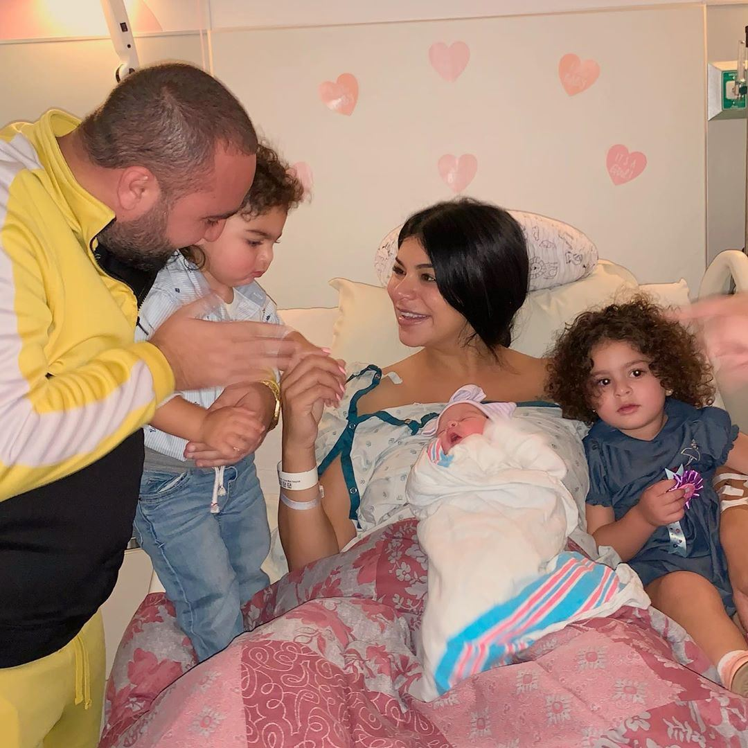 Ex Miss USA Rima Fakih Welcomes her 3rd Baby