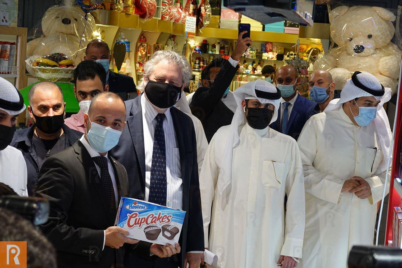 The American Truck   Kuwait Agro, Qurtoba Coop and The US Embassy Celebrate Partnership