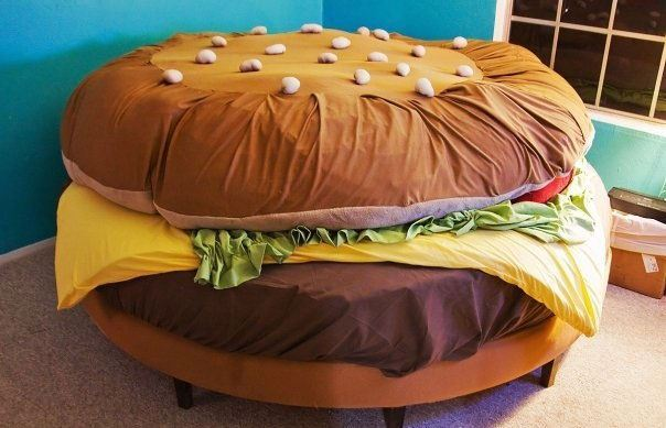 A Collection of furniture shaped like Food!