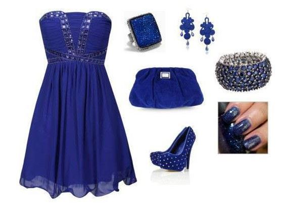 Best outfit combination for a Glamorous look