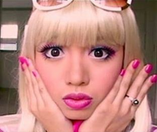 The Second Barbie make up tutorial on Rinnoo