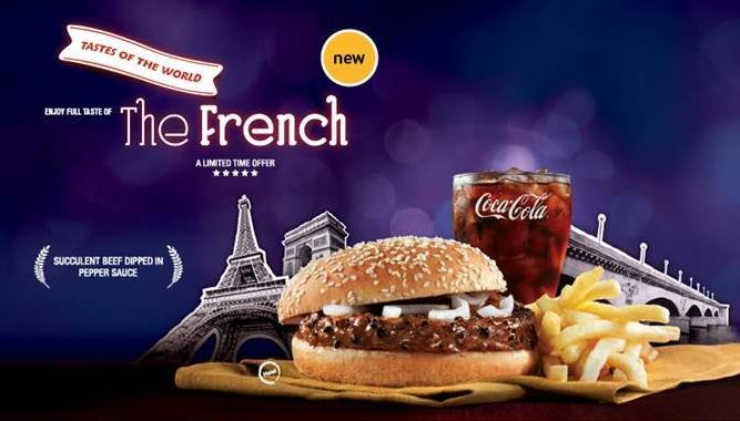 Enjoy the taste of The French limited edition meal from McDonalds