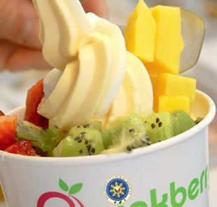 Keep calm and fall in love with Pinkberry amazing yogurt flavors!