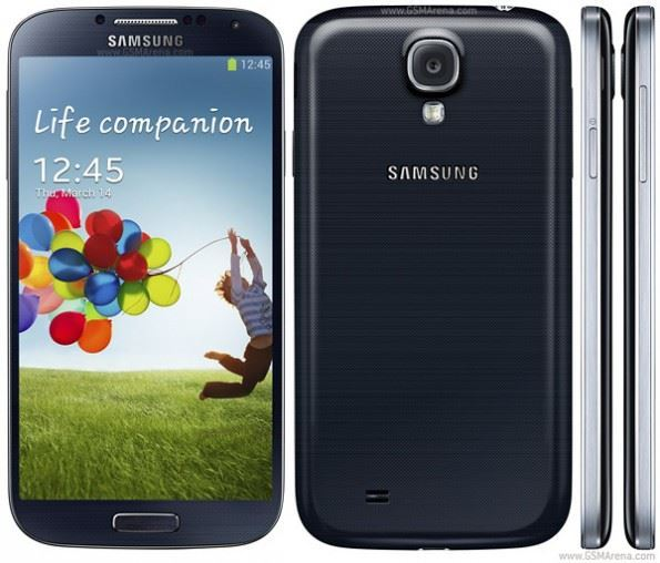 The Galaxy S4 features