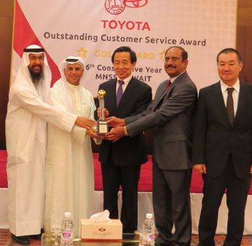 Al-Sayer Excellence Golden Award For Six Consecutive Years