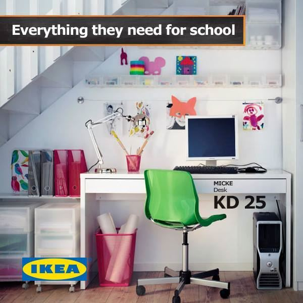 Get your kids ready for school with Ikea