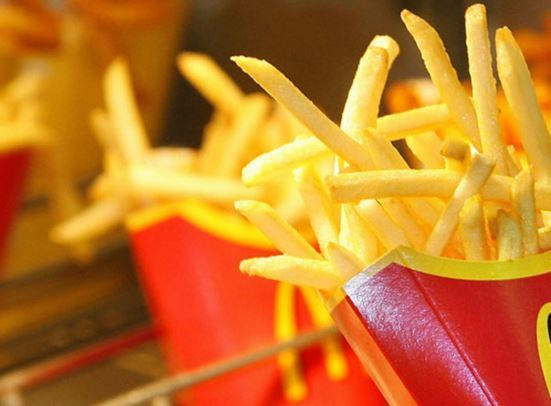 Calories in McDonald's French fries