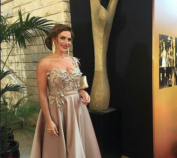 Celebrity Beauty Looks at Murex D'or 2015