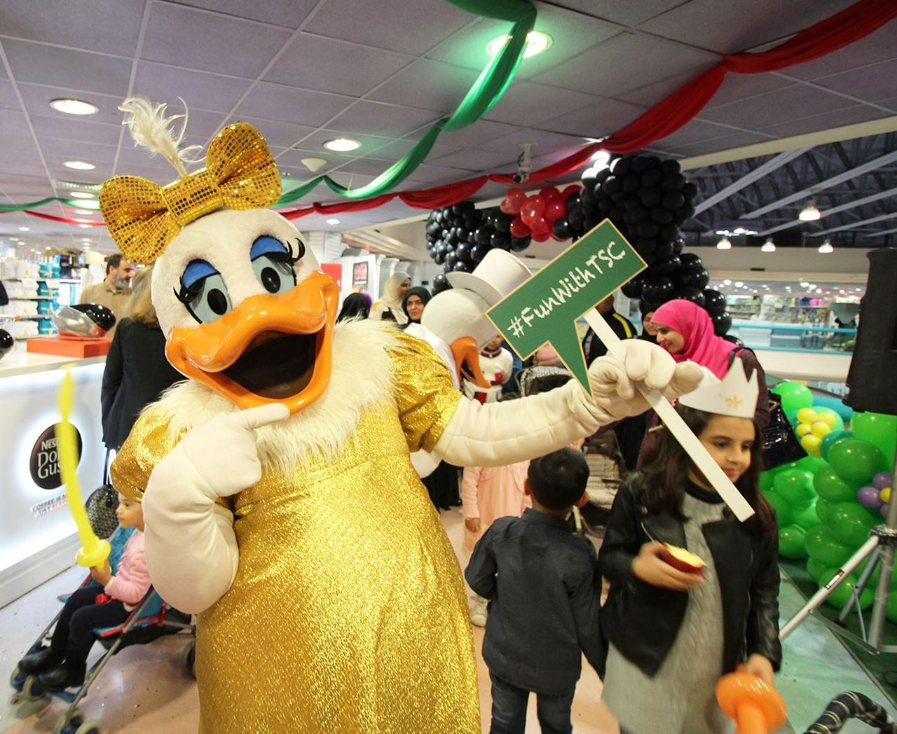 """""""Meet and Greet Your Favorite Cartoon Characters"""" Event at Sultan Center Salmiya"""