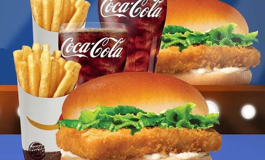 Burger King Lebanon Double Fish Meal Offer