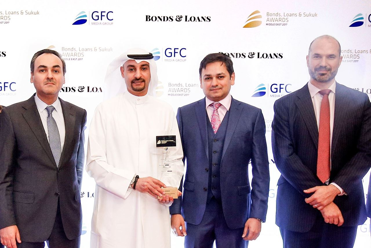 """Warba Bank Won the """"Financial Institutions Deal of The Year"""" Award"""
